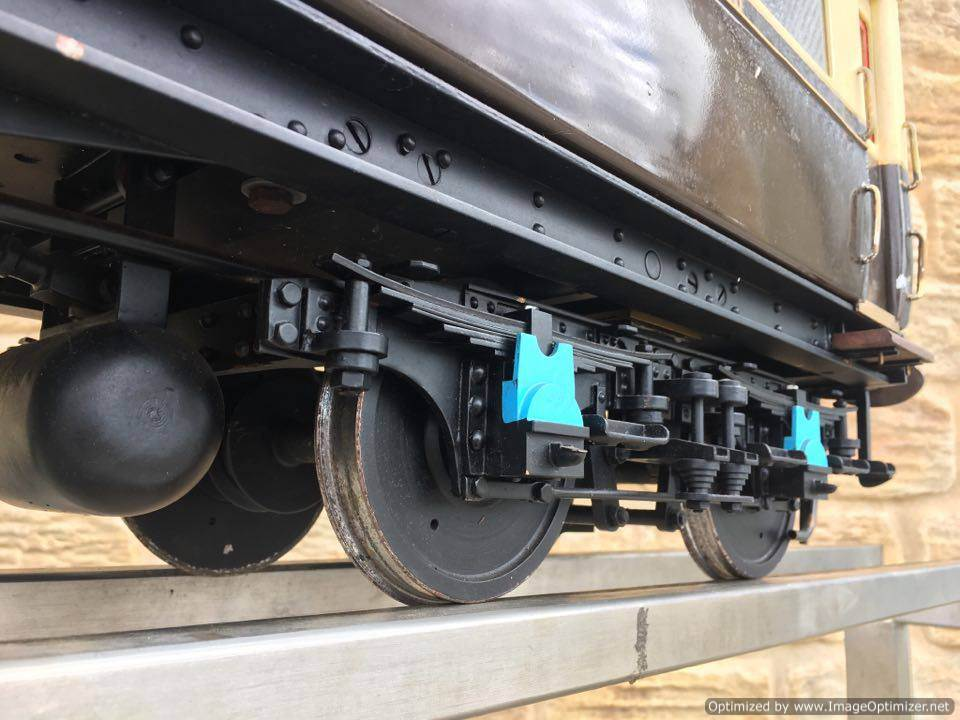 test 5 inch Gauge Live Steam GWR Autocoach for sale 05 Optimized