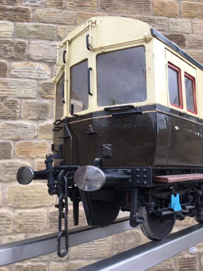test 5 inch Gauge Live Steam GWR Autocoach for sale 09 Optimized
