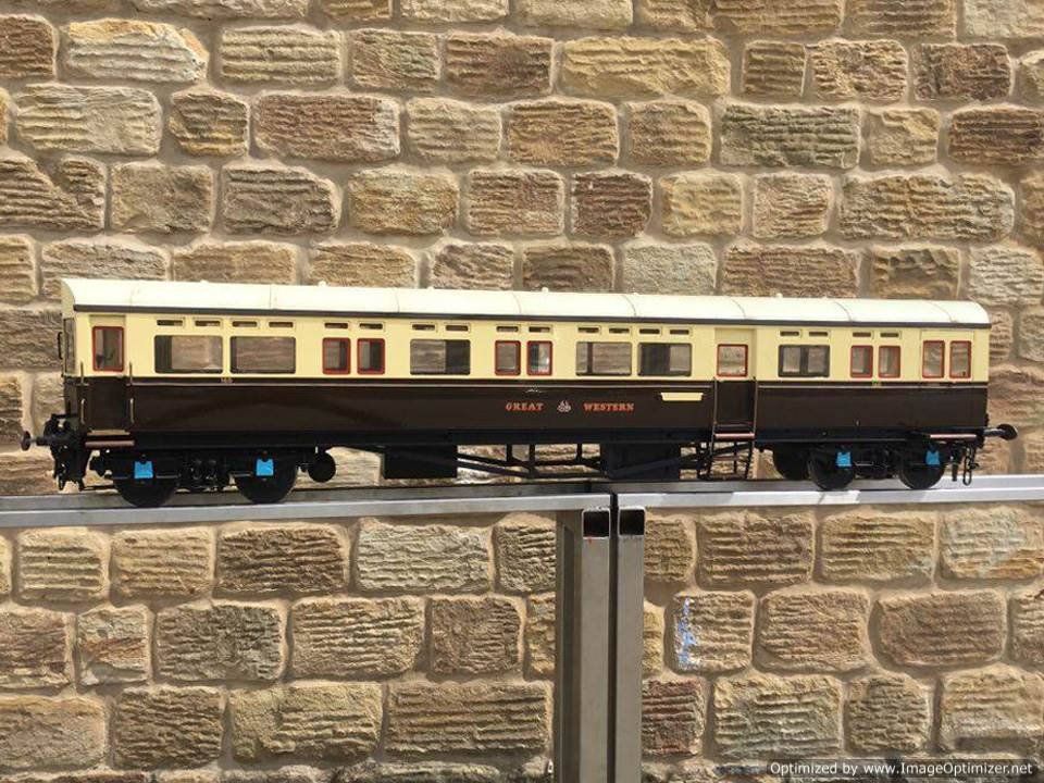 test 5 inch Gauge Live Steam GWR Autocoach for sale 10 Optimized