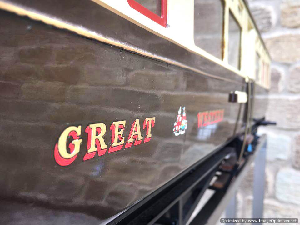 test 5 inch Gauge Live Steam GWR Autocoach for sale 13 Optimized