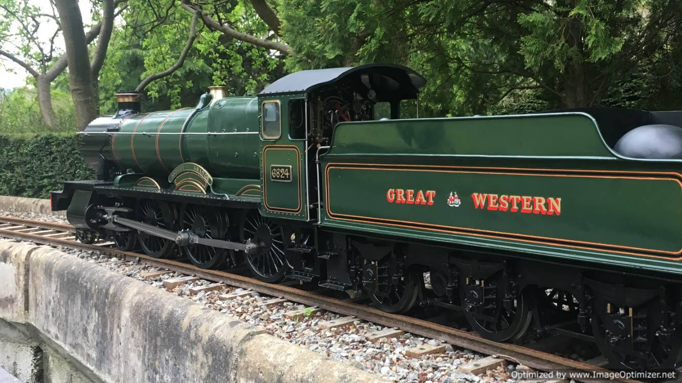 test 5 inch gauge GWR Grange 02