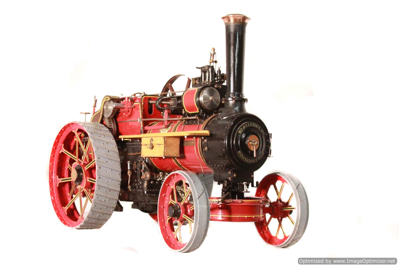 test Alchin Royal Chester live steam traction engine for sale 01 Optimized