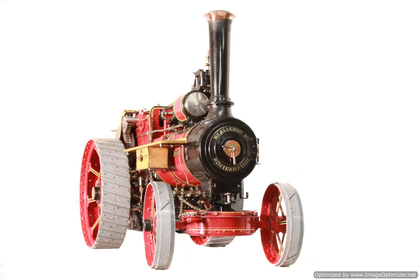 test Alchin Royal Chester live steam traction engine for sale 02 -Optimized