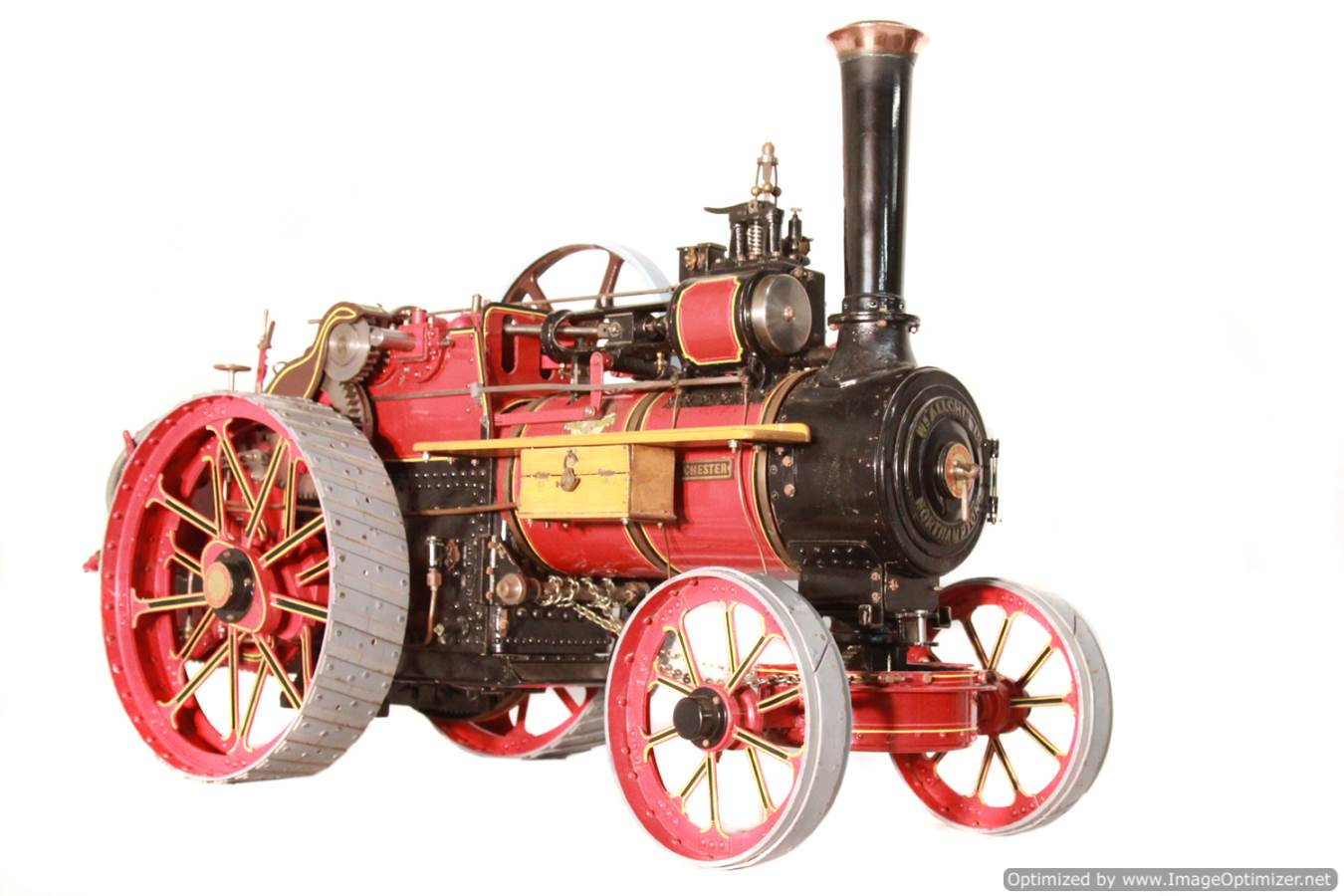 test Alchin Royal Chester live steam traction engine for sale 03 Optimized