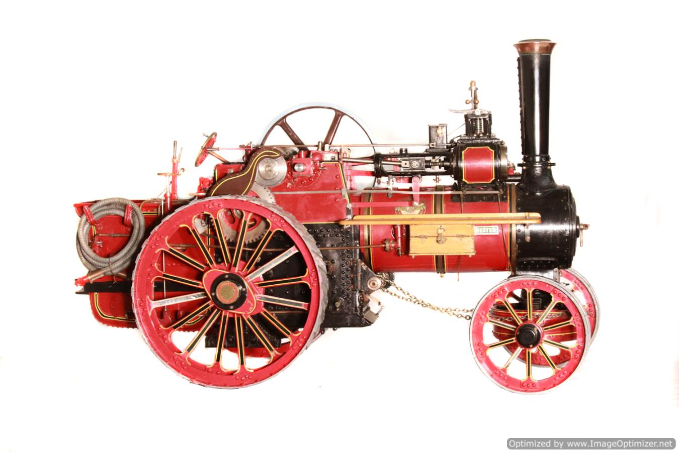 test Alchin Royal Chester live steam traction engine for sale 04 Optimized