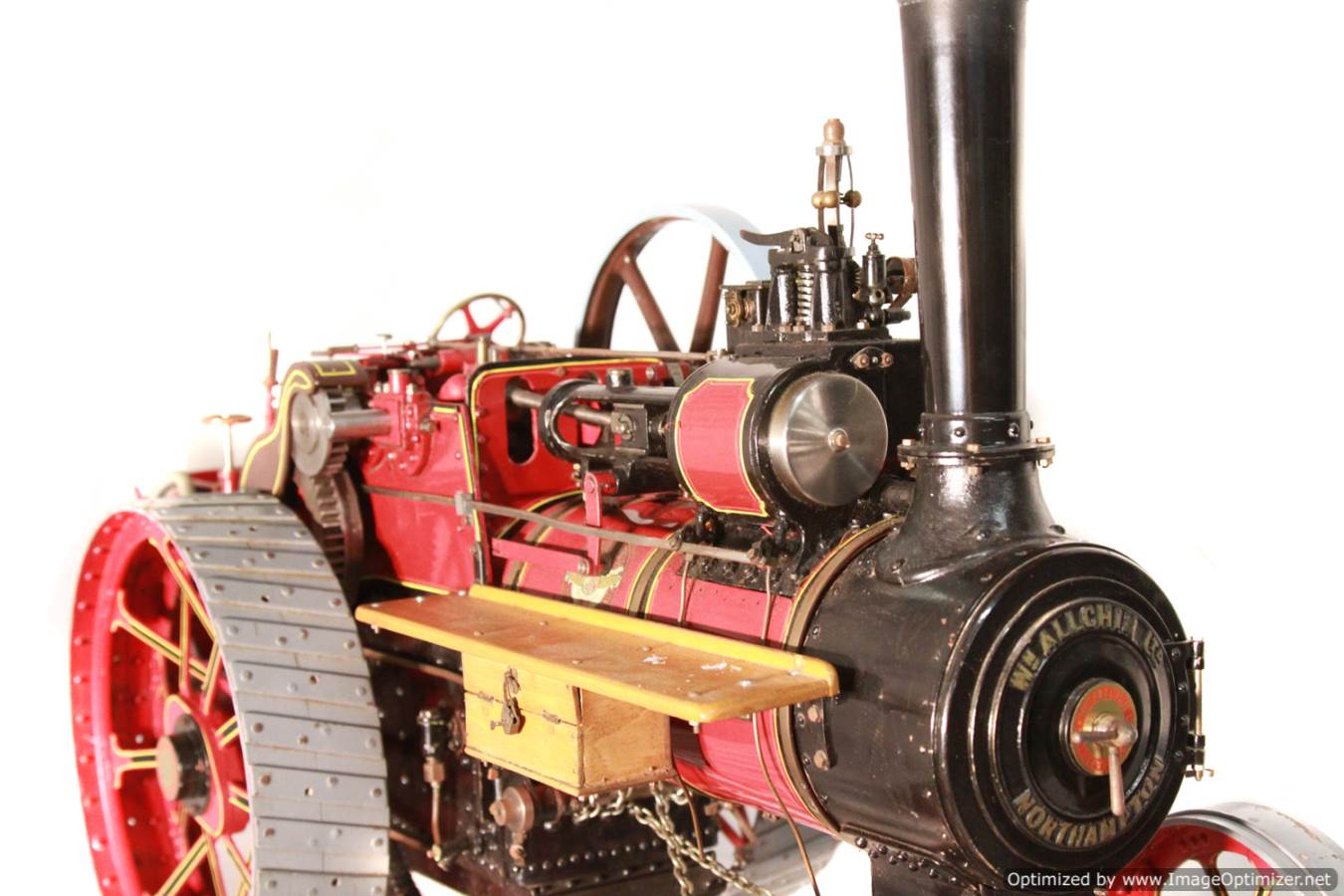 test Alchin Royal Chester live steam traction engine for sale 06-Optimized