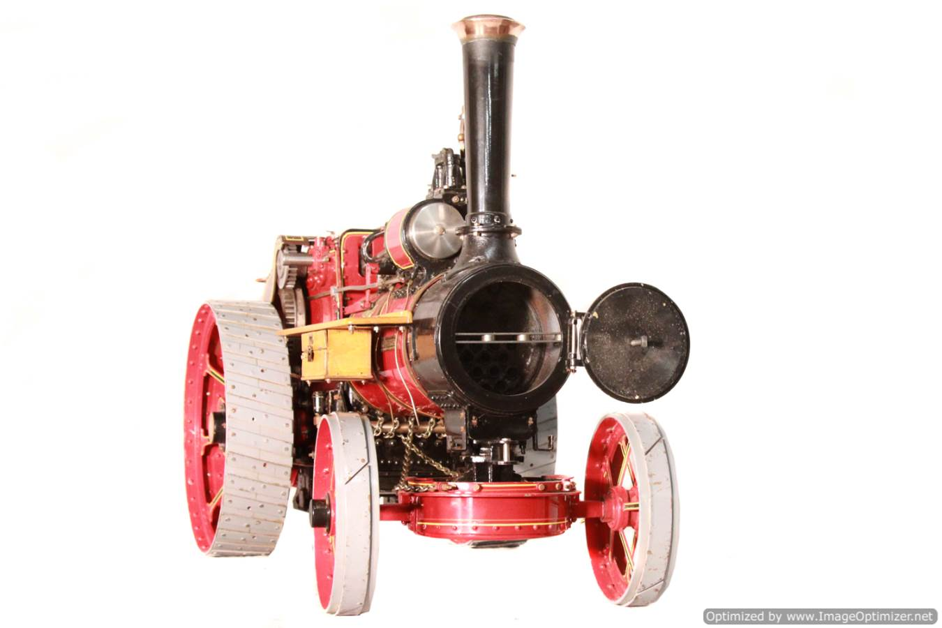 test Alchin Royal Chester live steam traction engine for sale 11 Optimized