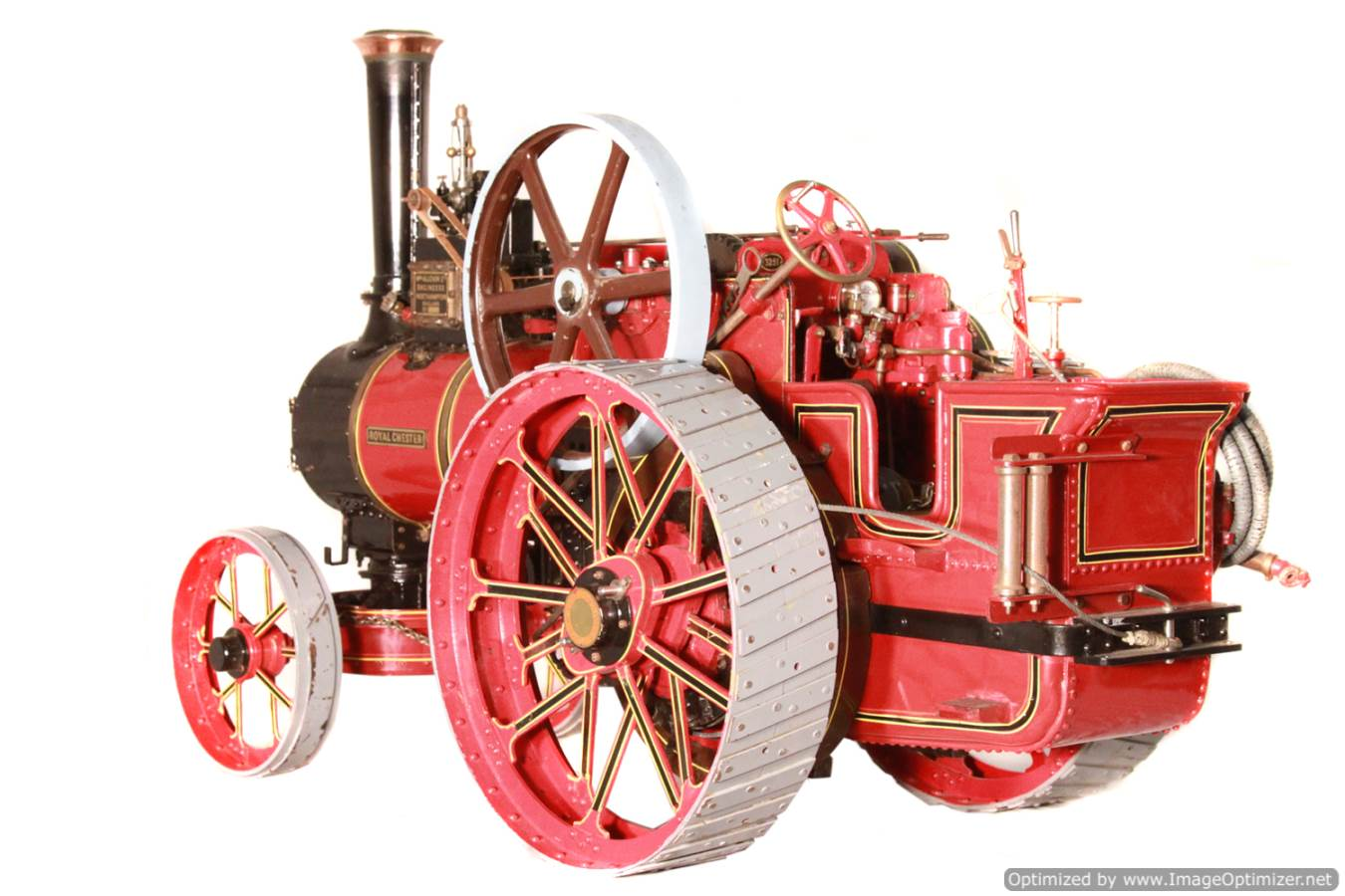 test Alchin Royal Chester live steam traction engine for sale 17 Optimized
