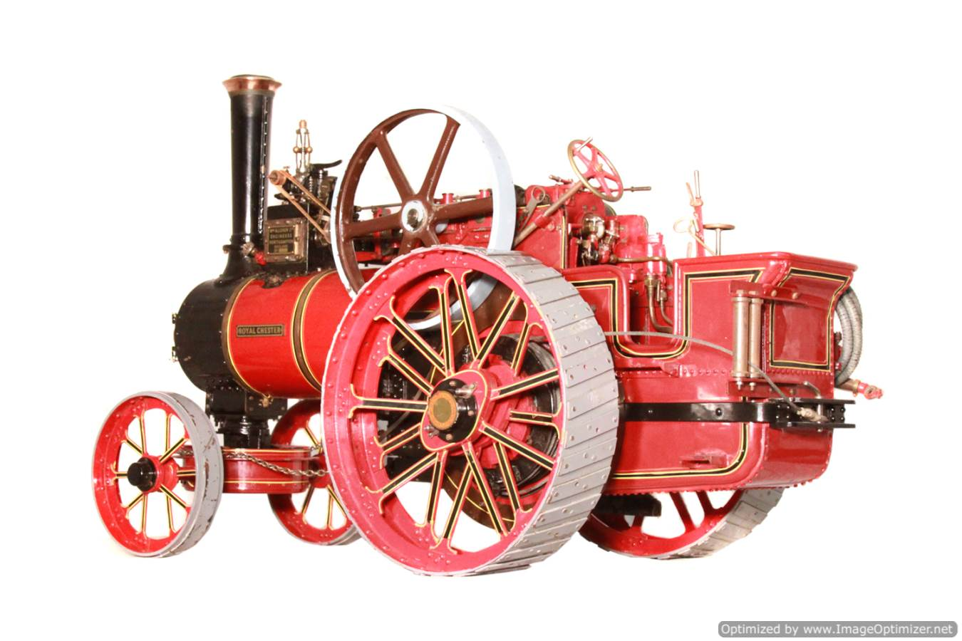 test Alchin Royal Chester live steam traction engine for sale 19 -Optimized