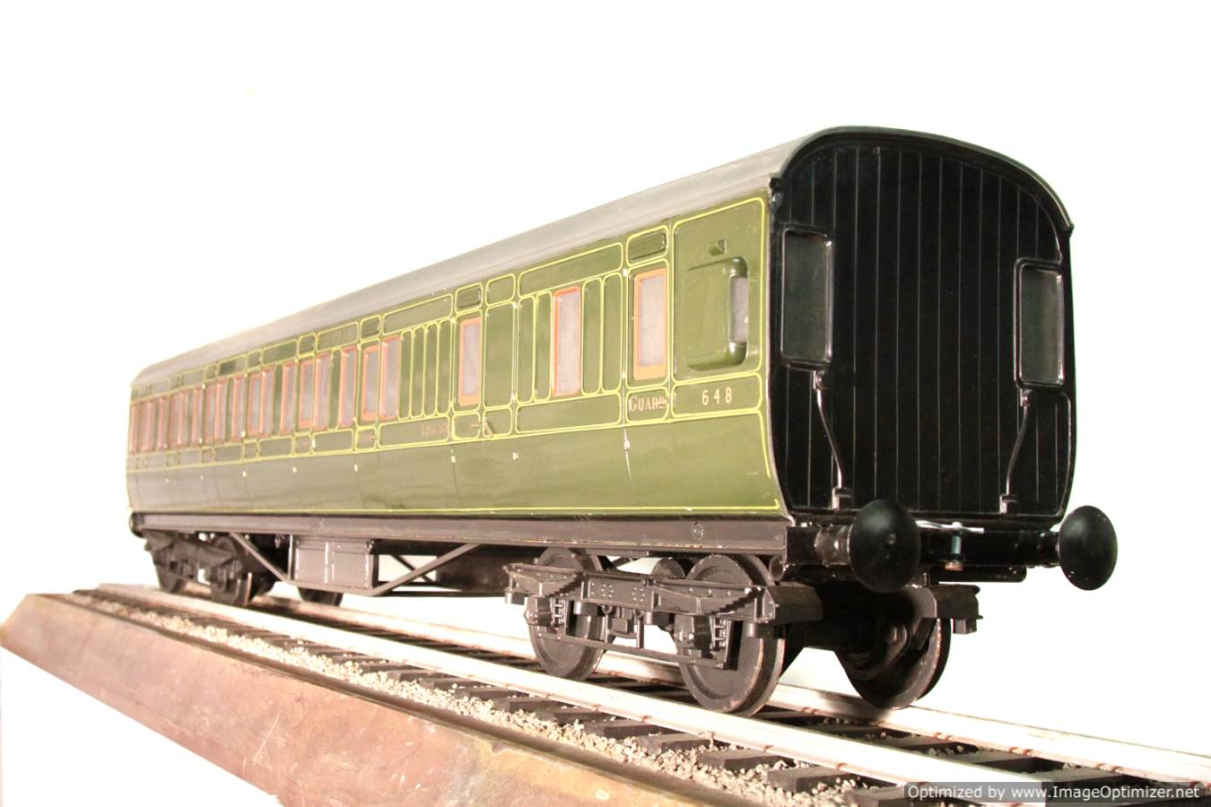 test Aristocraft live steam wagon for sale 06 Optimized
