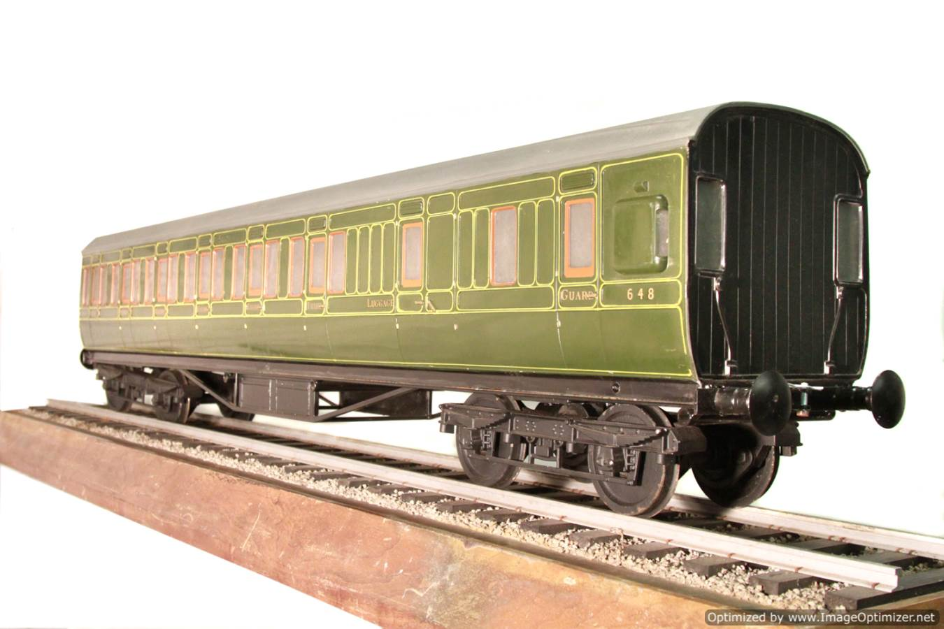 test Aristocraft live steam wagon for sale 07 Optimized