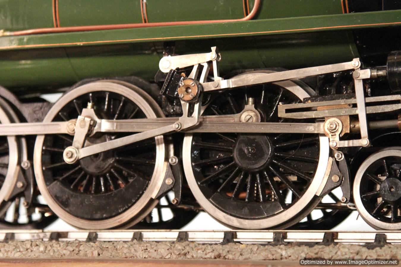 test BR Britannia live steam locomotive for sale 06 Optimized