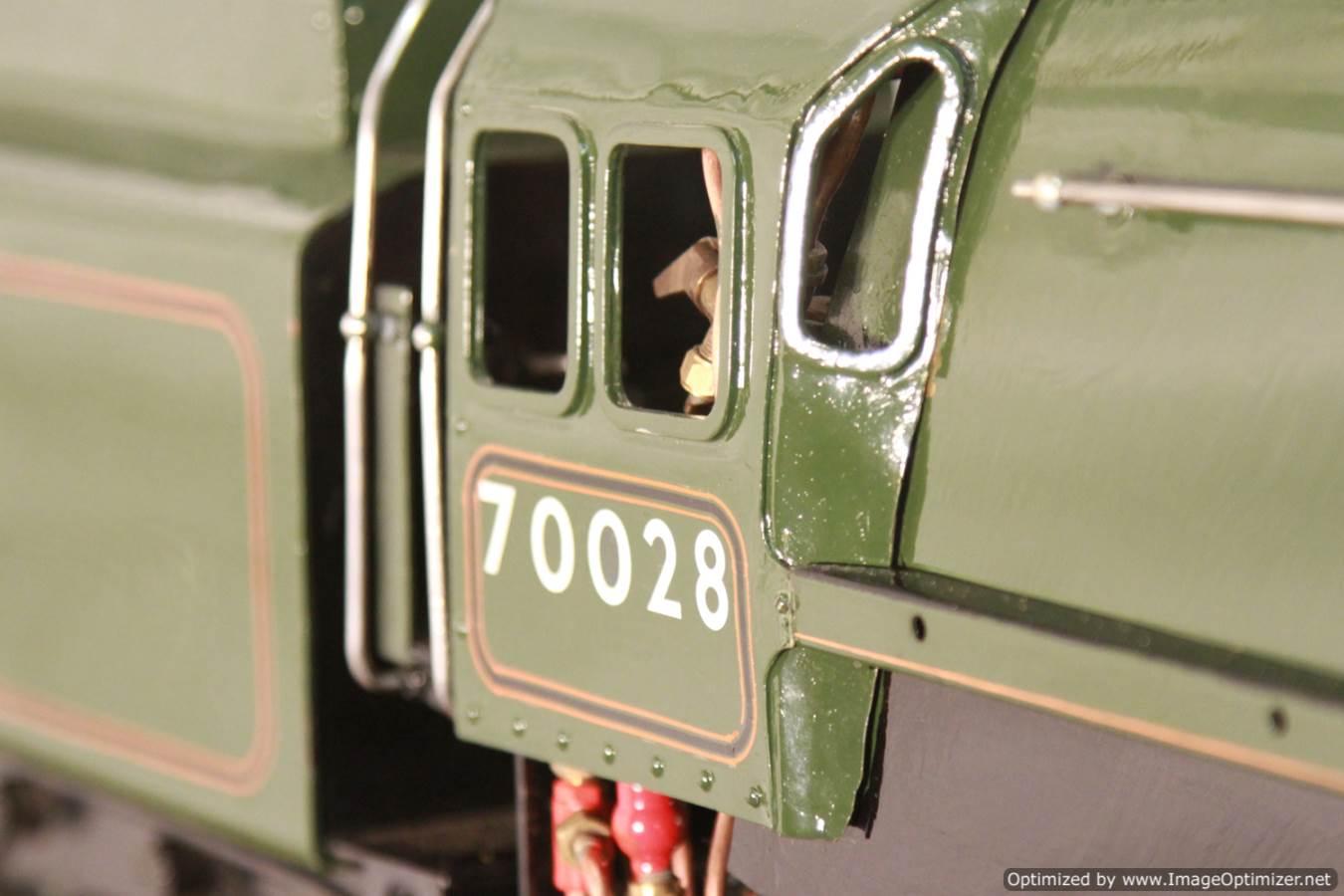 test BR Britannia live steam locomotive for sale 09 Optimized