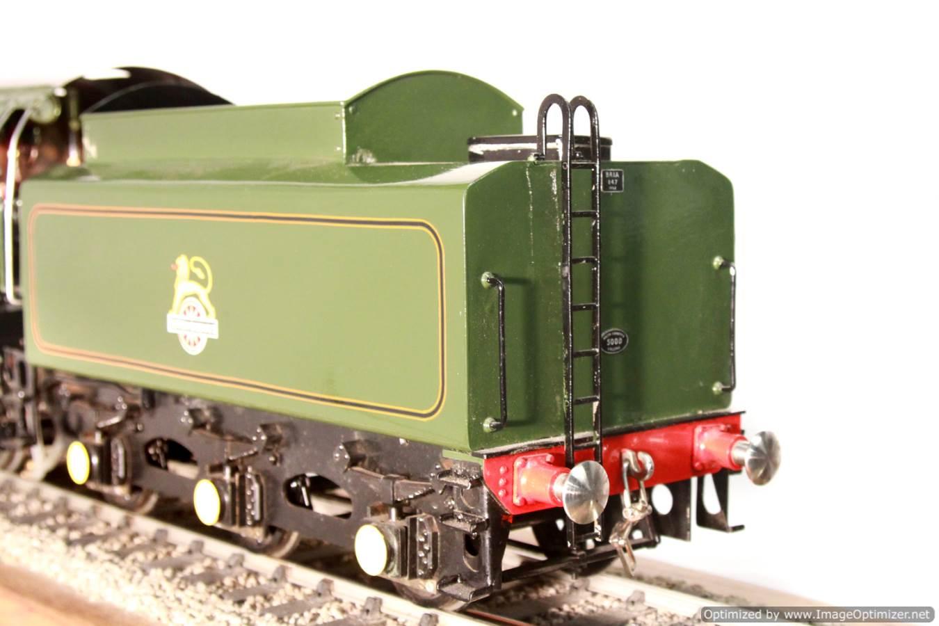 test BR Britannia live steam locomotive for sale 12 Optimized