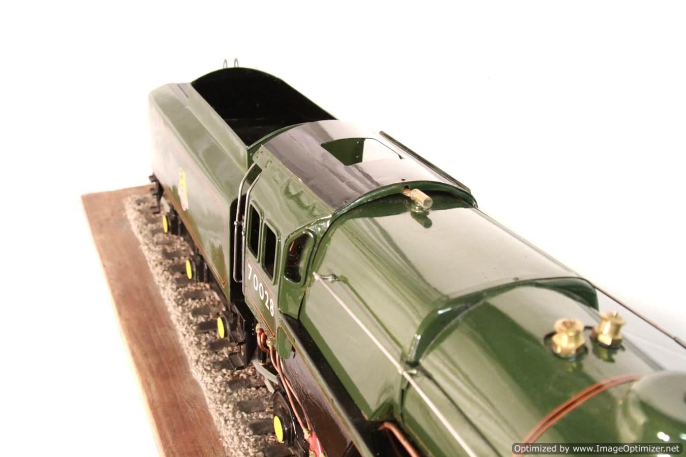 test BR Britannia live steam locomotive for sale 13 Optimized
