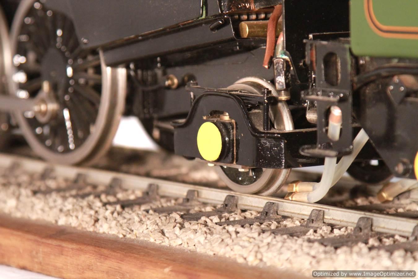test BR Britannia live steam locomotive for sale 18 Optimized