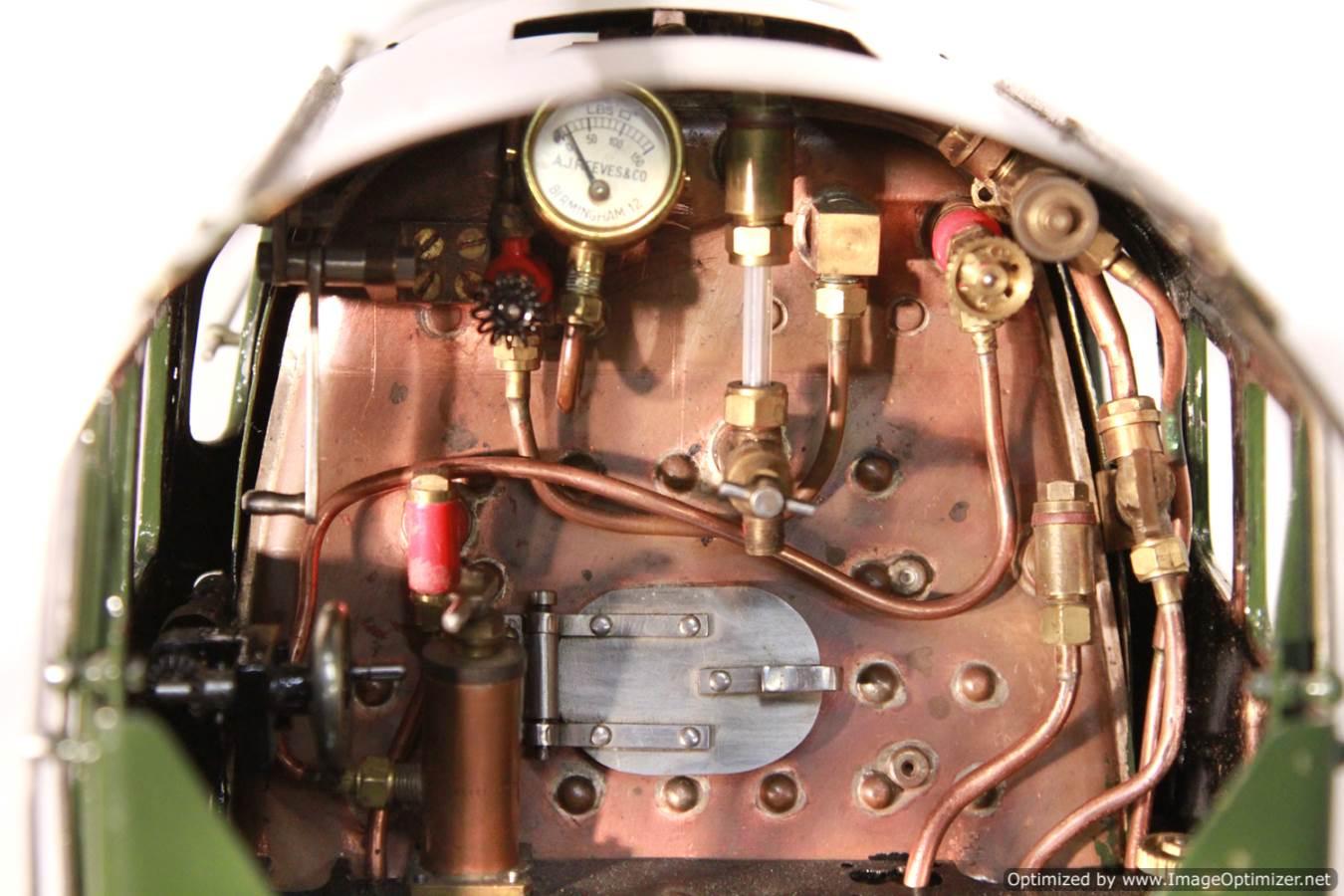 test BR Britannia live steam locomotive for sale 21 Optimized