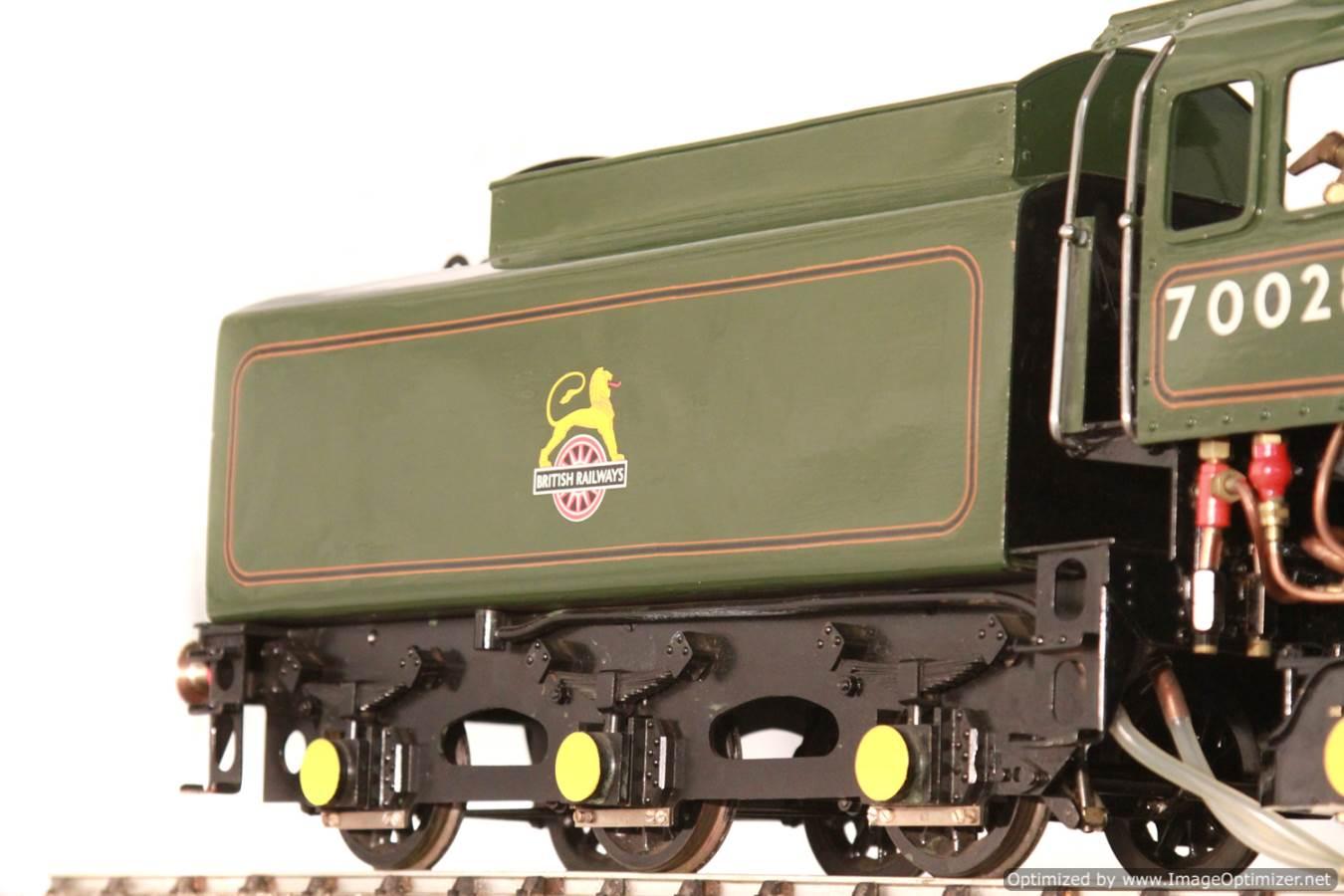 test BR Britannia live steam locomotive for sale 24 Optimized