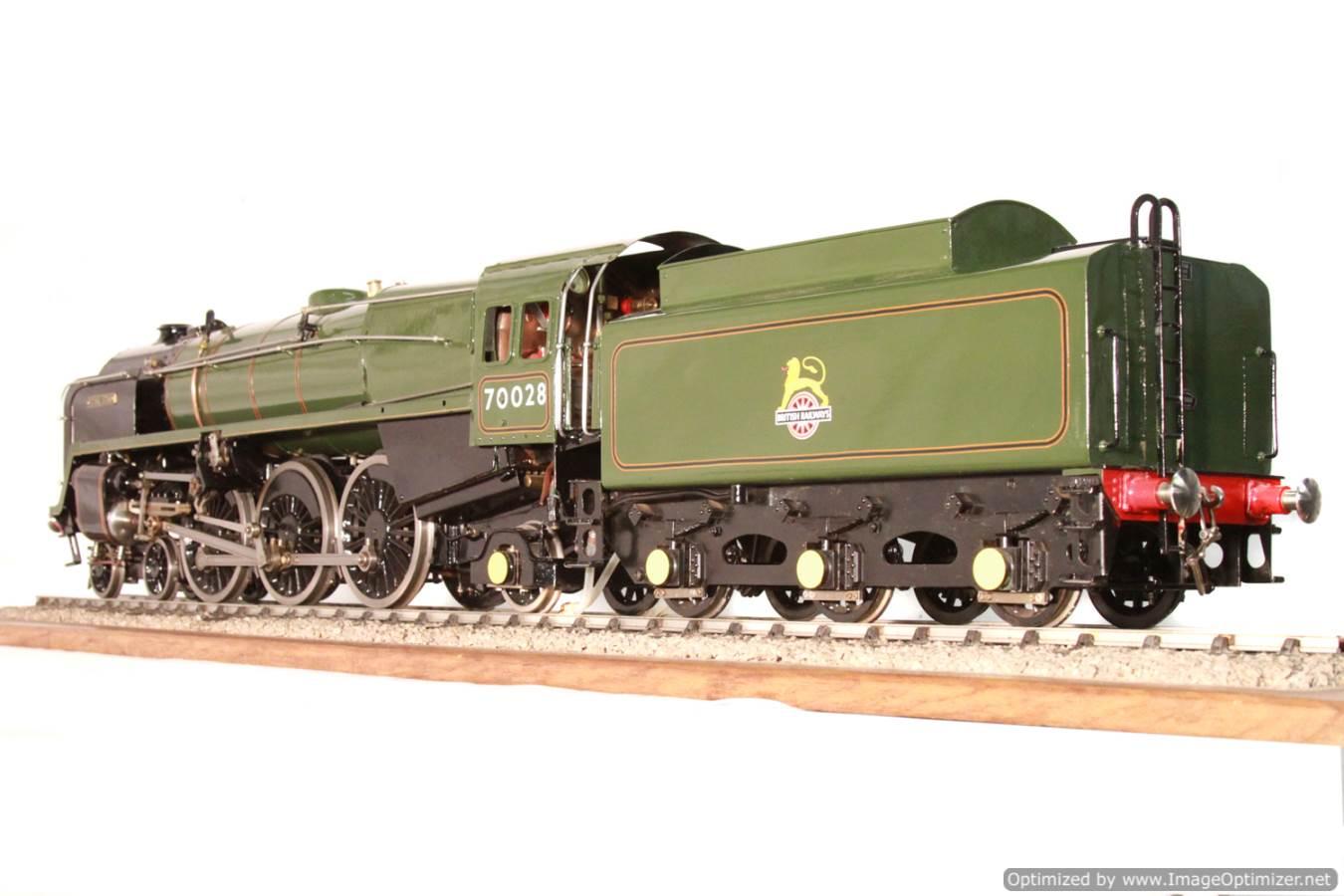 test BR Britannia live steam locomotive for sale 29 Optimized