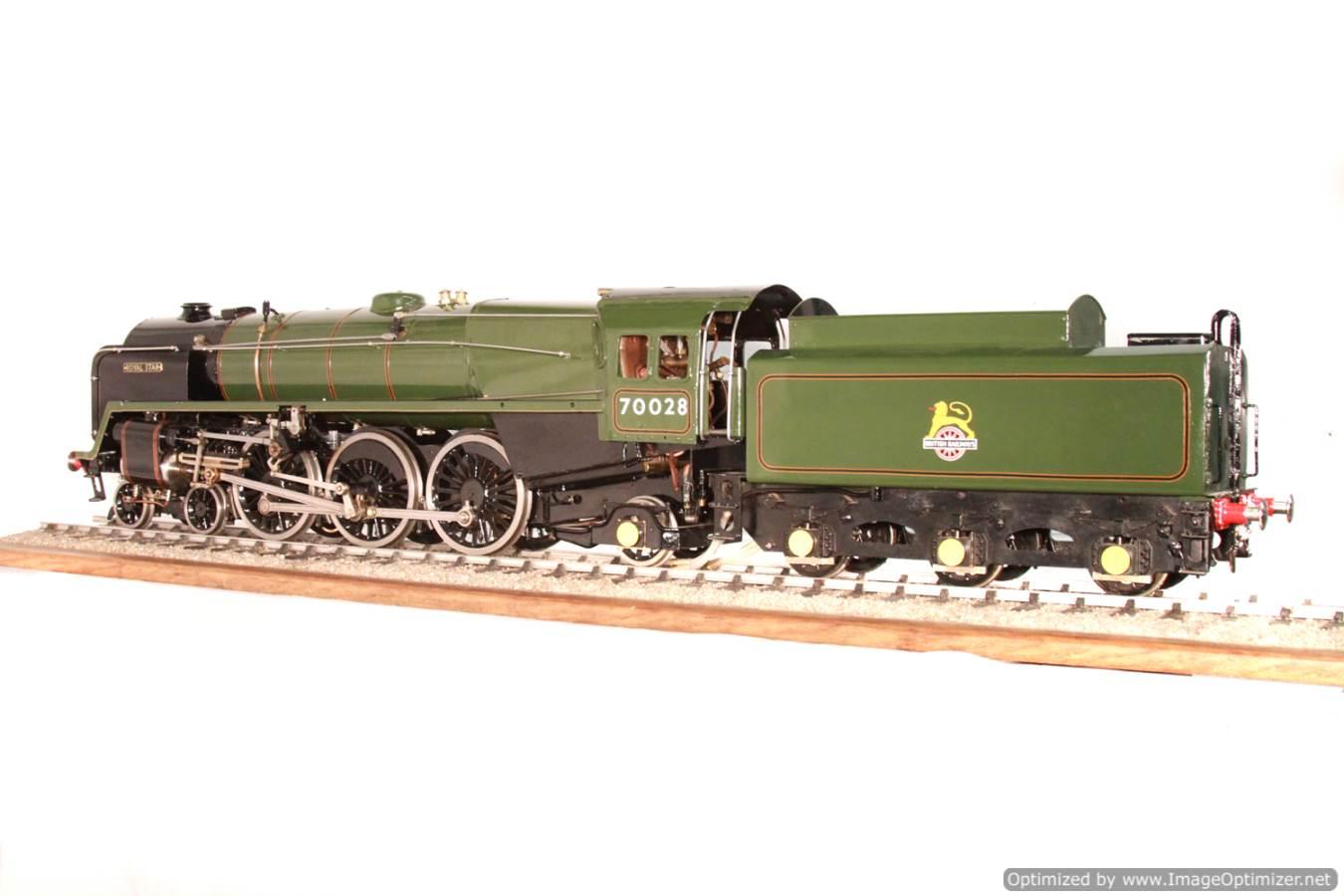 test BR Britannia live steam locomotive for sale 30 Optimized