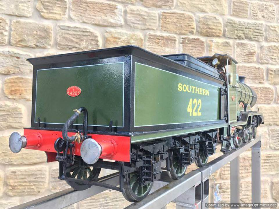 test 5 inch Gauge birghton Atlantic live steam locomotive for sale 03 Optimized
