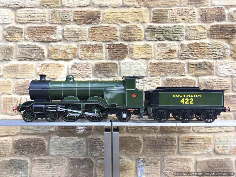 test 5 inch Gauge birghton Atlantic live steam locomotive for sale 06 Optimized