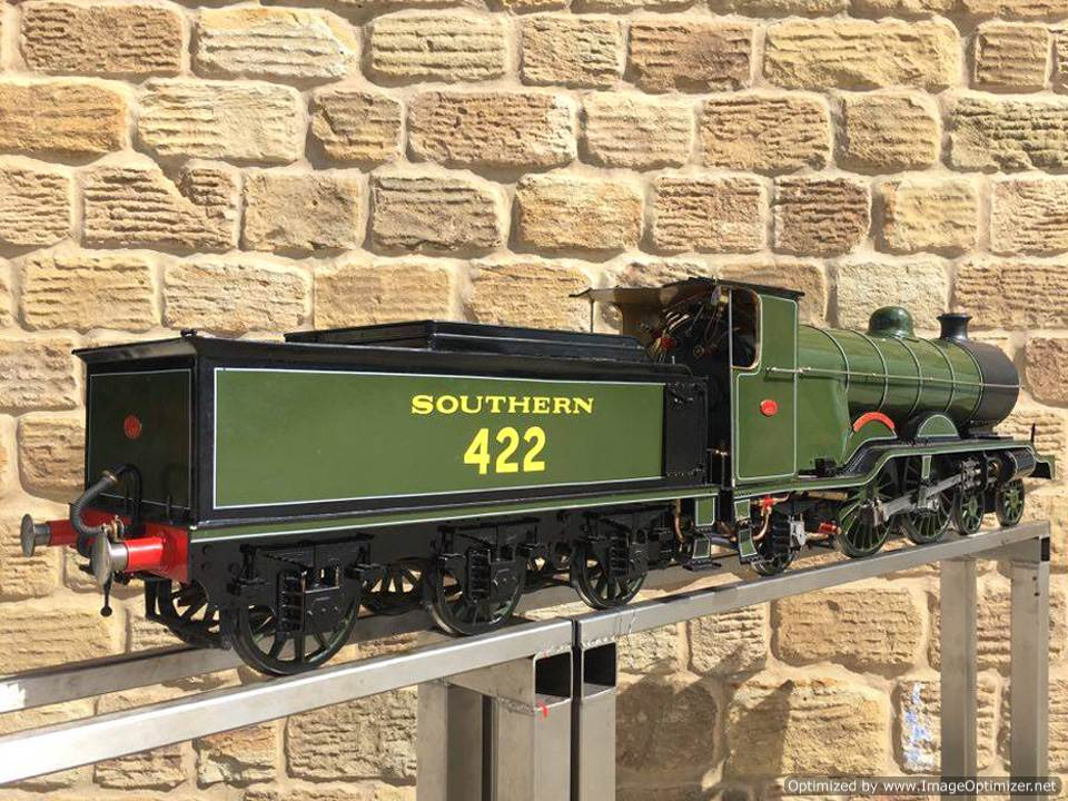 test 5 inch Gauge birghton Atlantic live steam locomotive for sale 09 Optimized