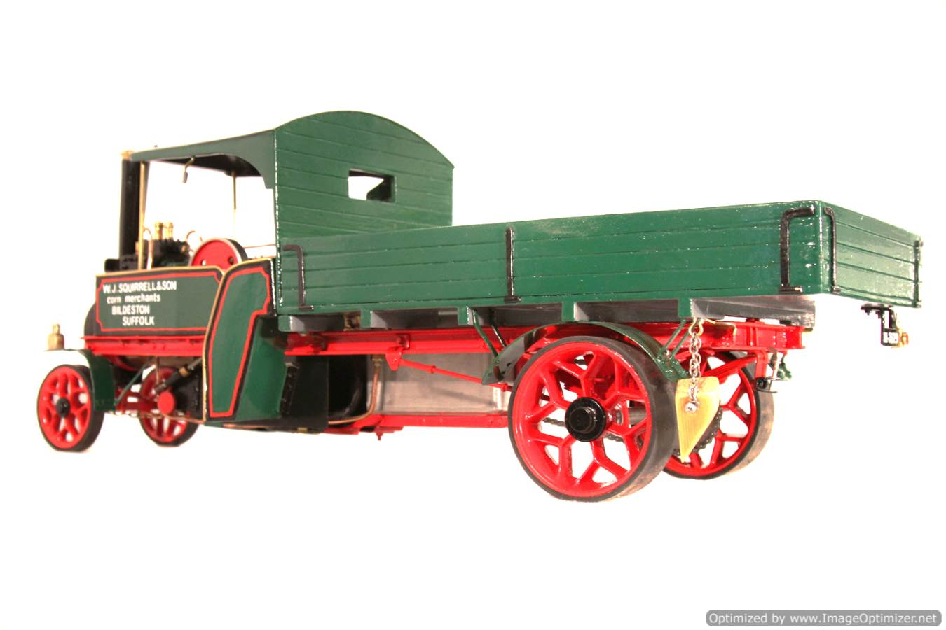 test 1 inch Foden Lorry Live Steam Locomotive for sale 01 Optimized