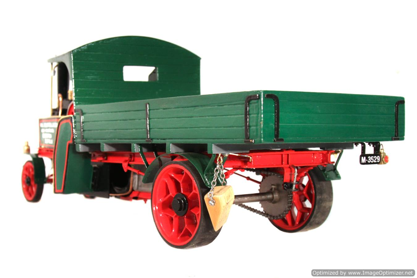test 1 inch Foden Lorry Live Steam Locomotive for sale 02 Optimized