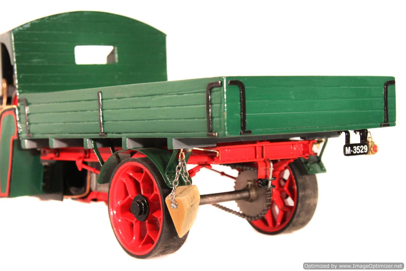 test 1 inch Foden Lorry Live Steam Locomotive for sale 03 Optimized