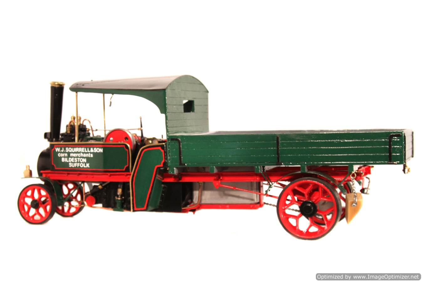 test 1 inch Foden Lorry Live Steam Locomotive for sale 04 Optimized