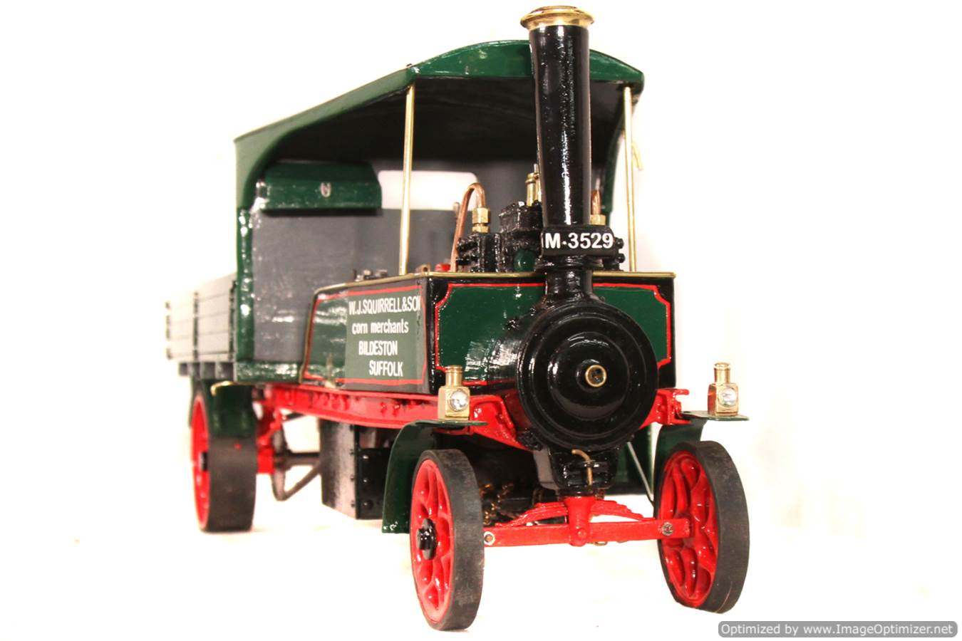 test 1 inch Foden Lorry Live Steam Locomotive for sale 09 Optimized