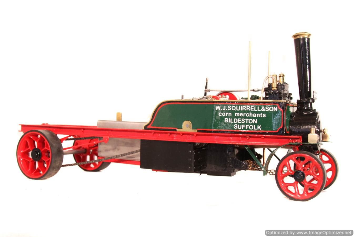 test 1 inch Foden Lorry Live Steam Locomotive for sale 10 Optimized