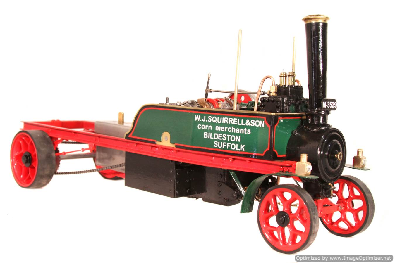 test 1 inch Foden Lorry Live Steam Locomotive for sale 11 Optimized