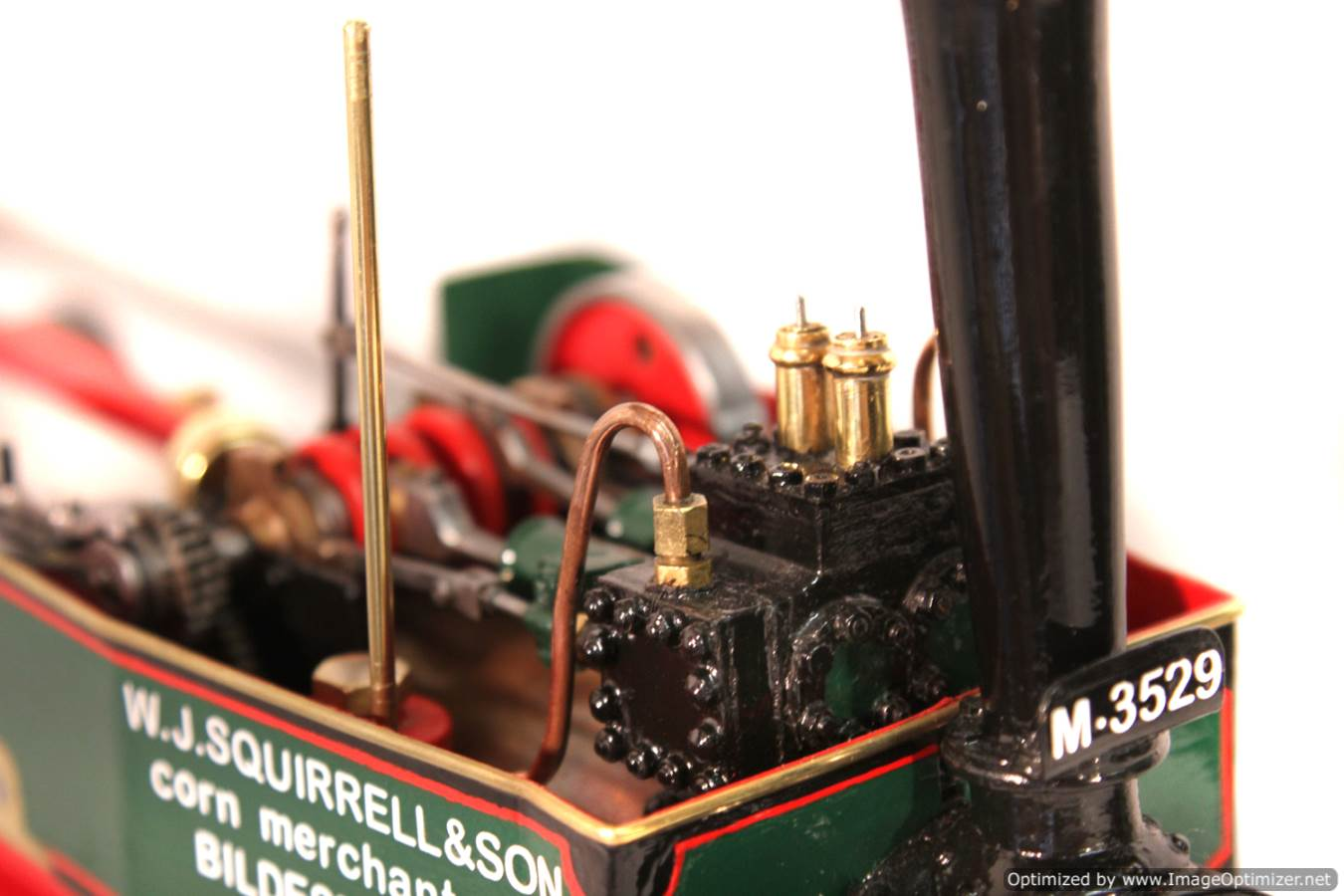 test 1 inch Foden Lorry Live Steam Locomotive for sale 14 Optimized