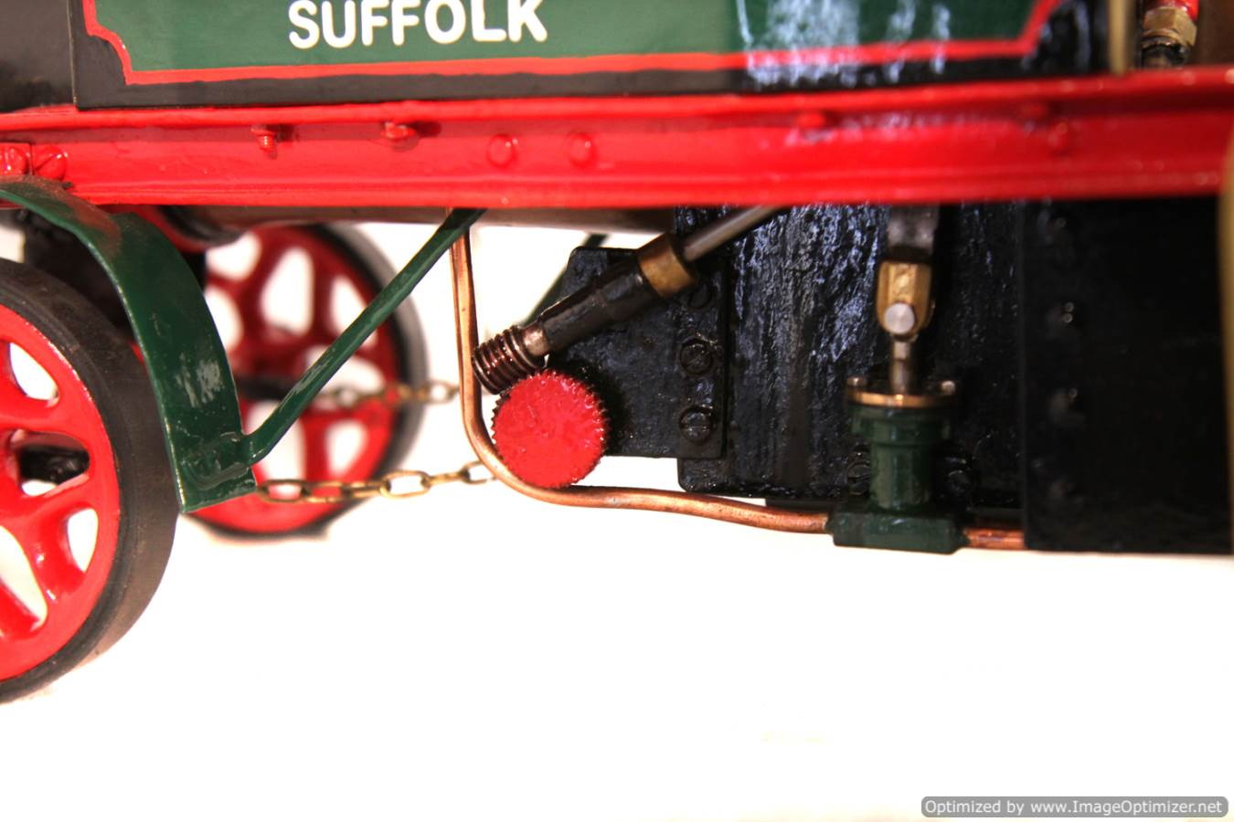 test 1 inch Foden Lorry Live Steam Locomotive for sale 16 Optimized