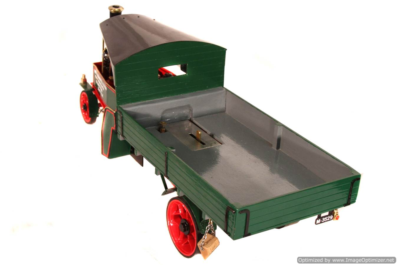 test 1 inch Foden Lorry Live Steam Locomotive for sale 17 Optimized