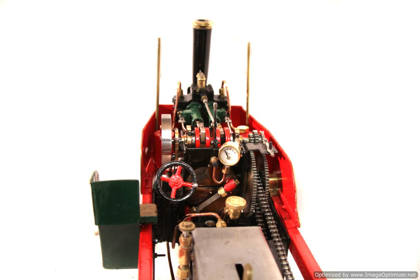 test 1 inch Foden Lorry Live Steam Locomotive for sale 18 Optimized