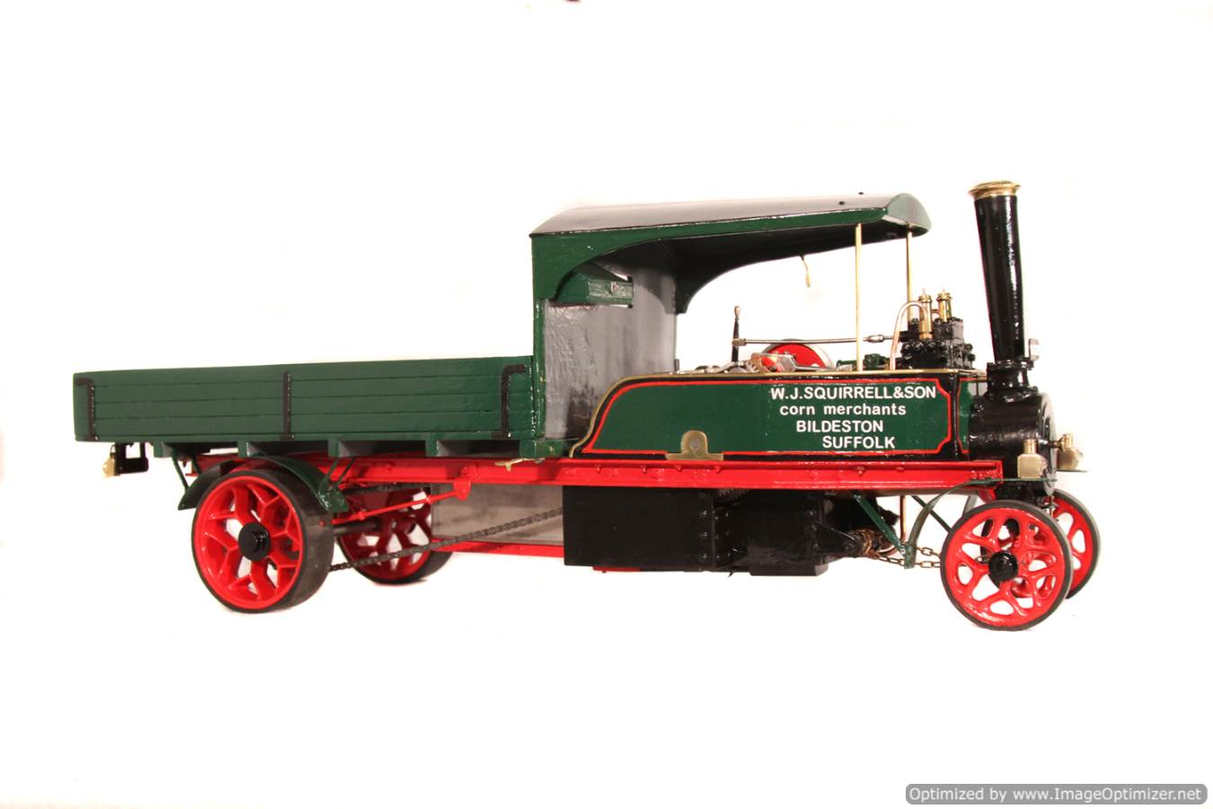 test 1 inch Foden Lorry Live Steam Locomotive for sale 19 Optimized