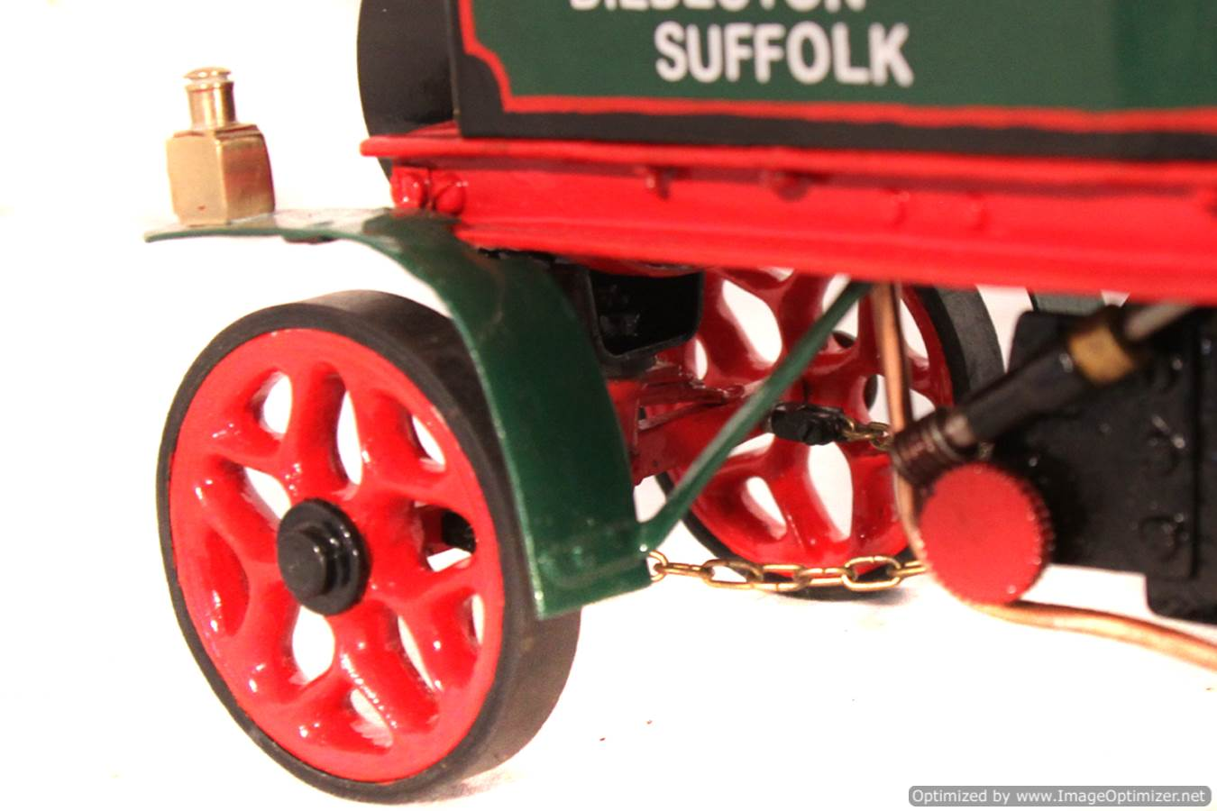 test 1 inch Foden Lorry Live Steam Locomotive for sale 20 Optimized