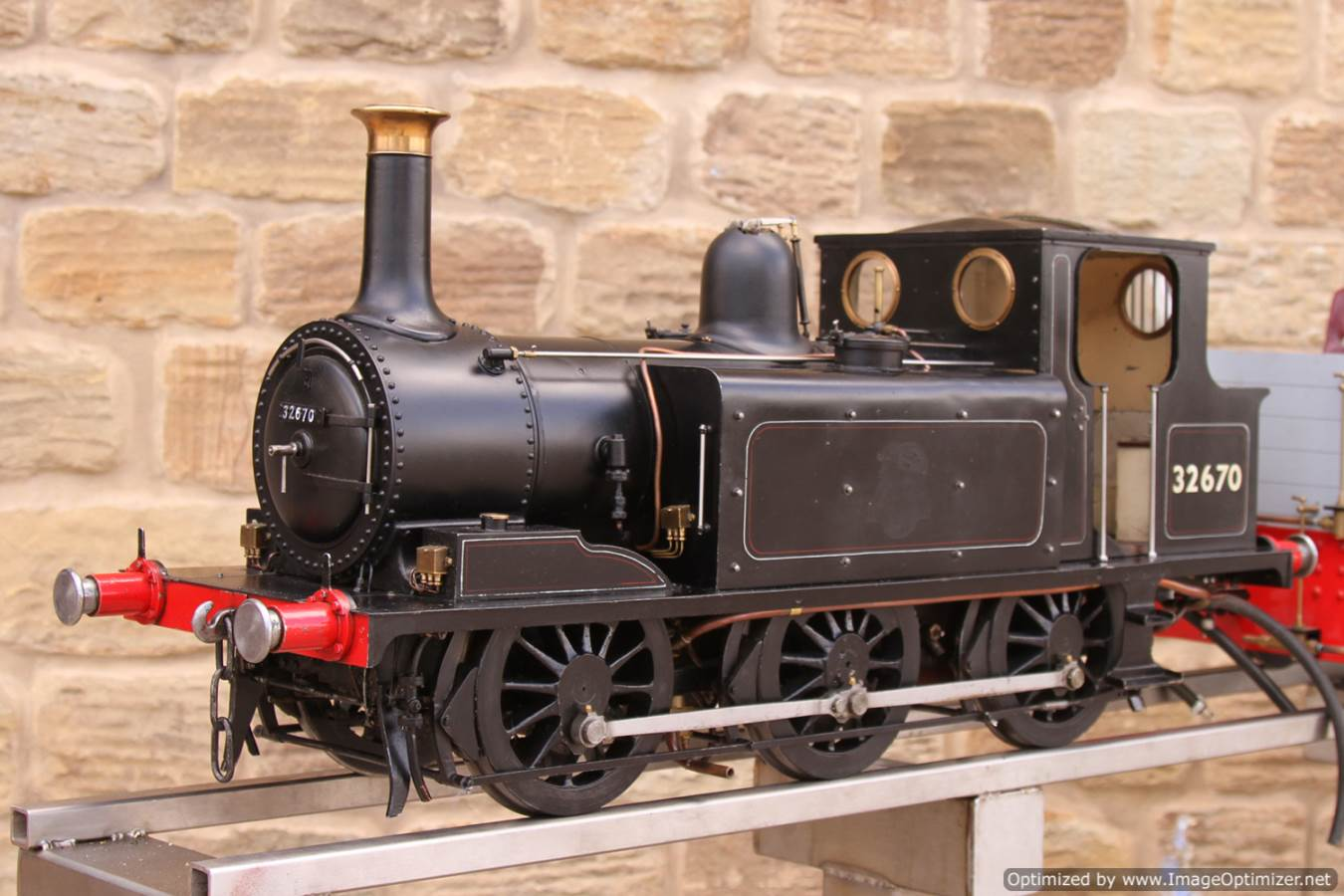 test Live Steam Terrier locomotive for sale 02 Optimized