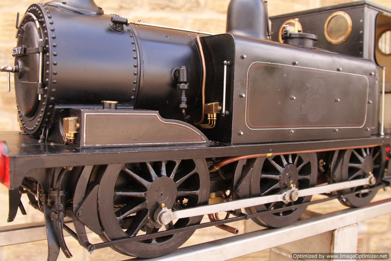 test Live Steam Terrier locomotive for sale 11 Optimized