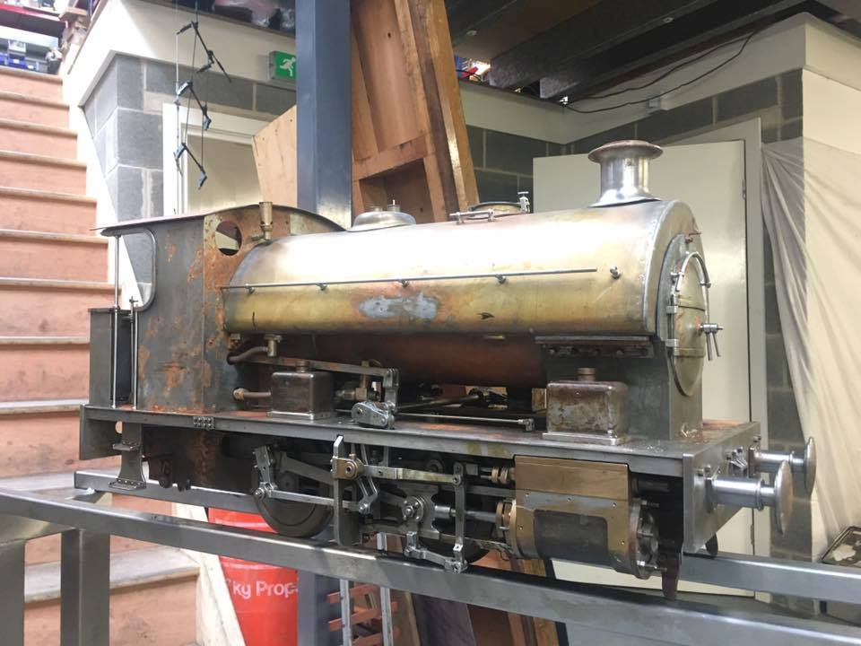 test 5 gauge Bagnall Kenfig Ann of Holland live steam for sale 01