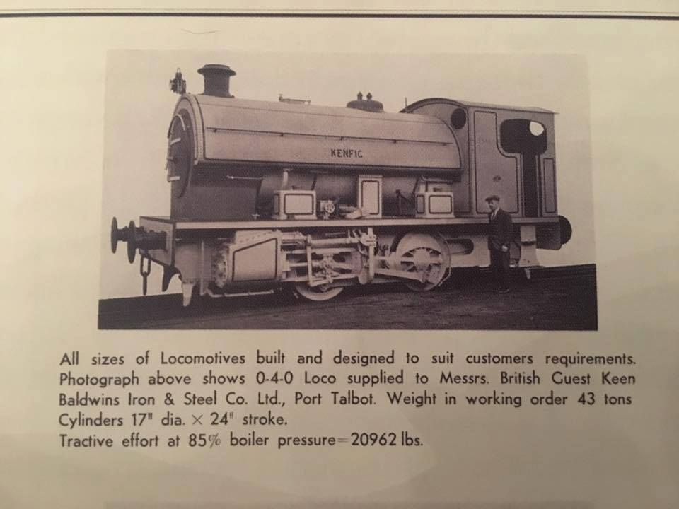 test Bagnall Kenfig live steam for sale