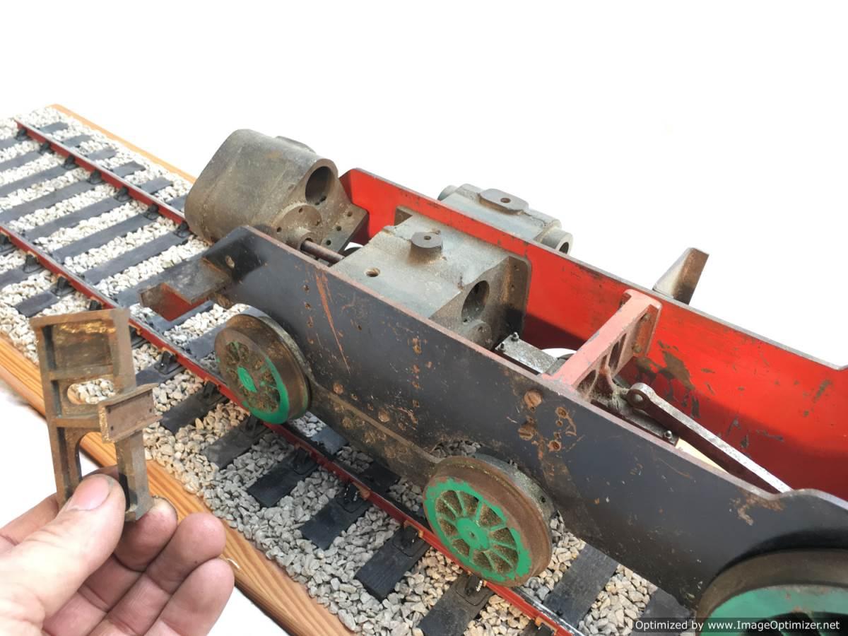 test 3 gauge SR Schools Class engine live steam model for sale 02-Optimized