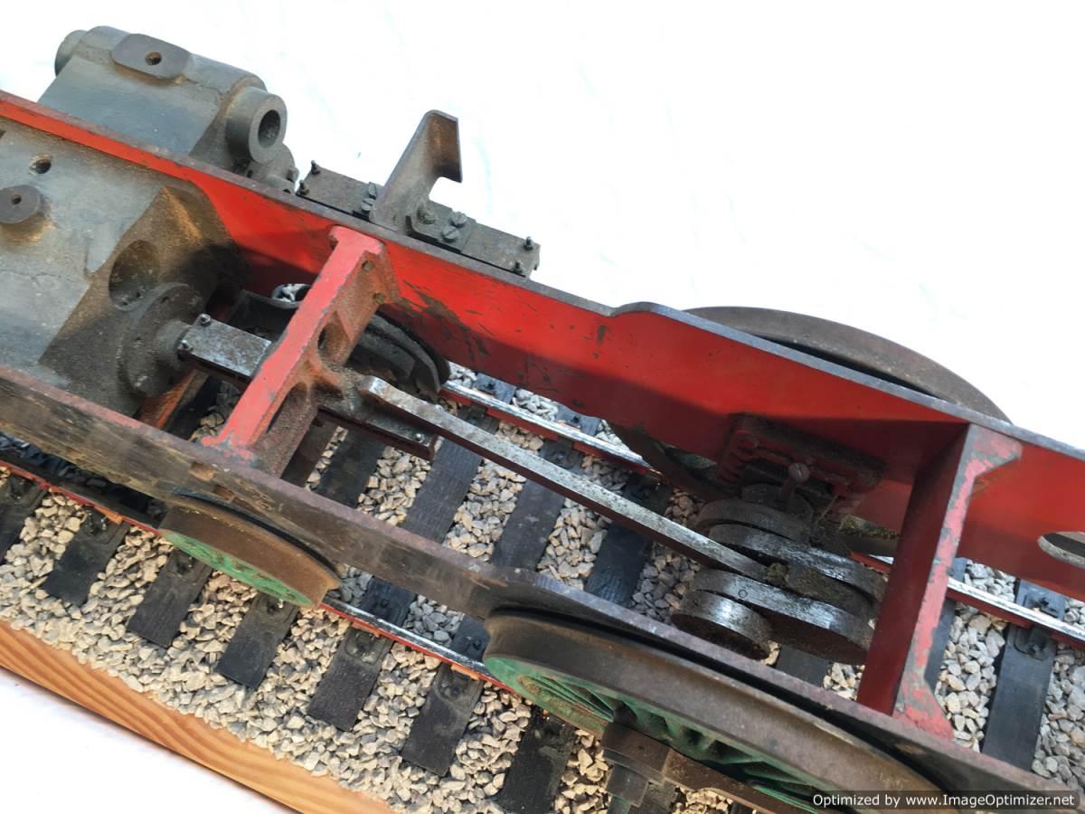 test 3 gauge SR Schools Class engine live steam model for sale 04-Optimized