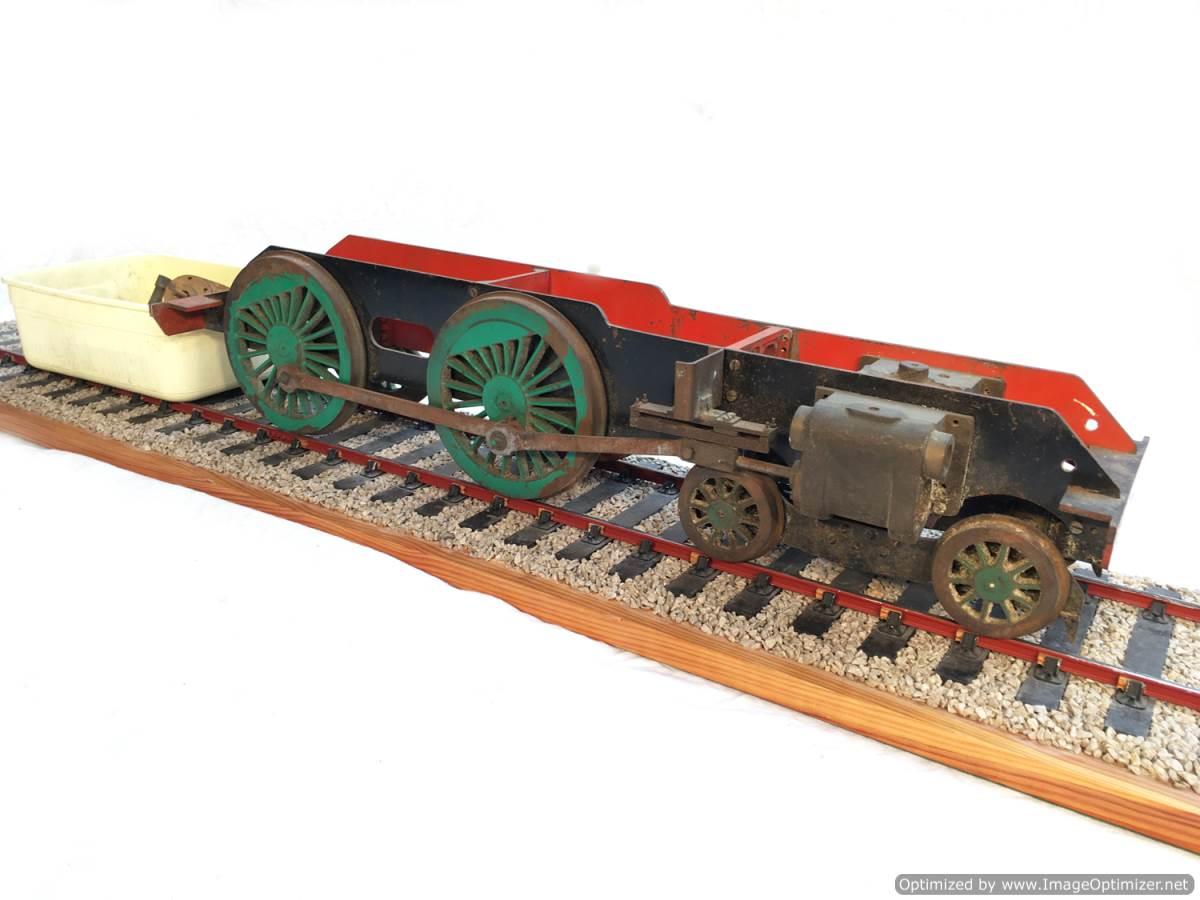 test 3 gauge SR Schools Class engine live steam model for sale 05-Optimized
