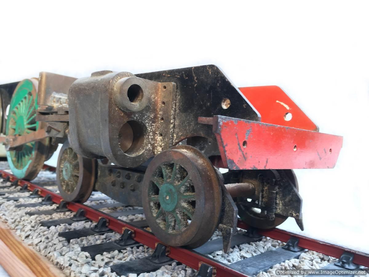 test 3 gauge SR Schools Class engine live steam model for sale 07-Optimized