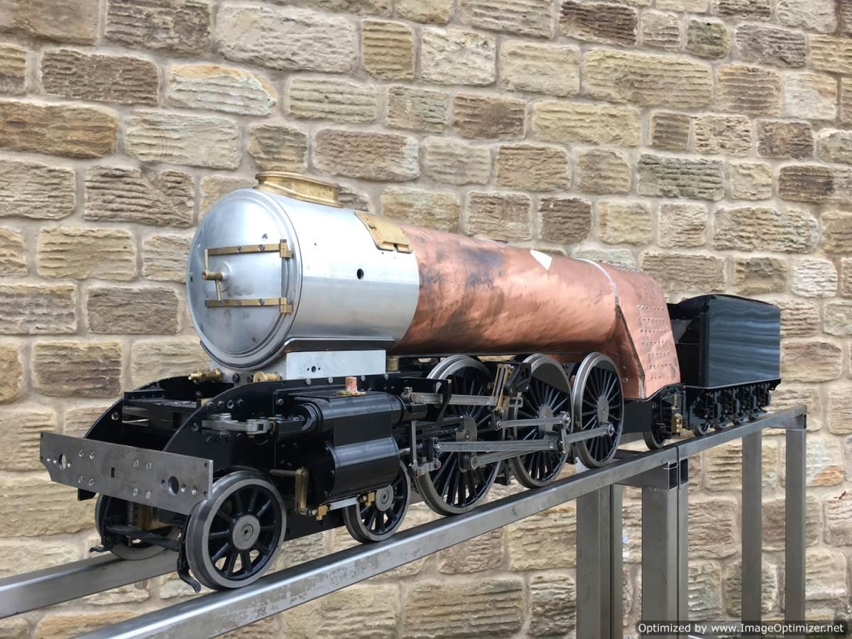 test 5 gauge LNER A3 Flying Scotsman live steam for sale 01-Optimized