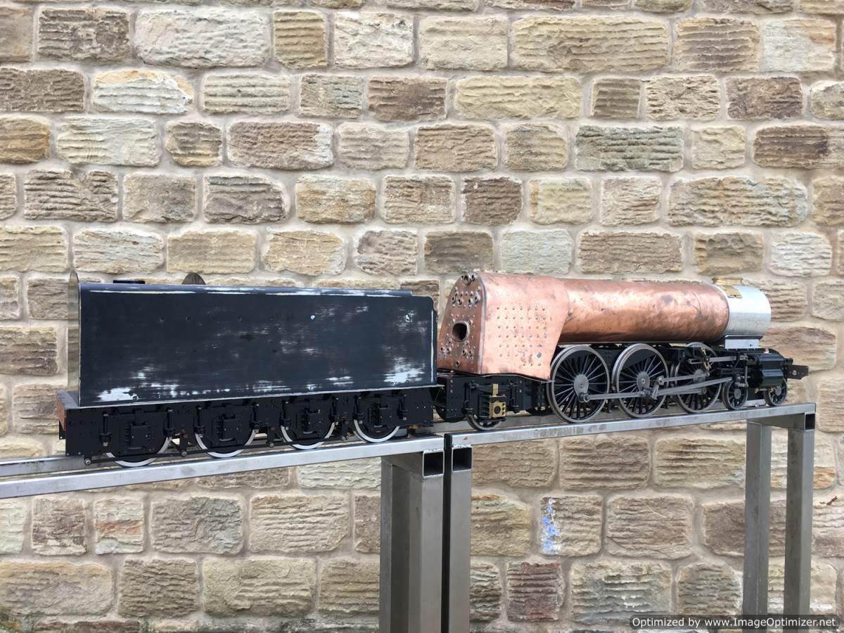 test 5 gauge LNER A3 Flying Scotsman live steam for sale 02-Optimized